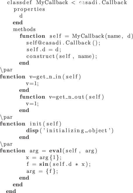 6  User-defined function objects